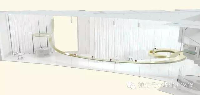上海新天地首家质馆咖啡设计 空间模型
