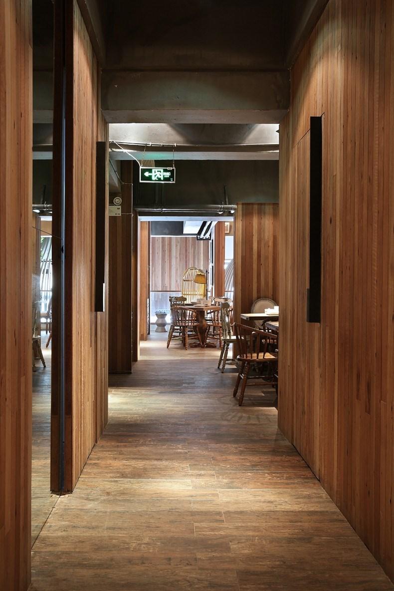 印巷餐厅设计-二楼餐区