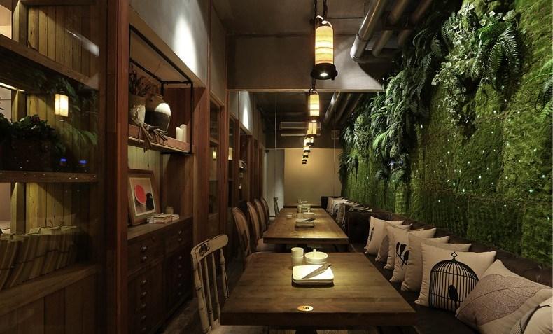 印巷餐厅-后院设计