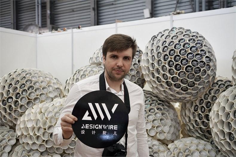 designwire艺术装置亮相2016上海国际建筑与室内设计