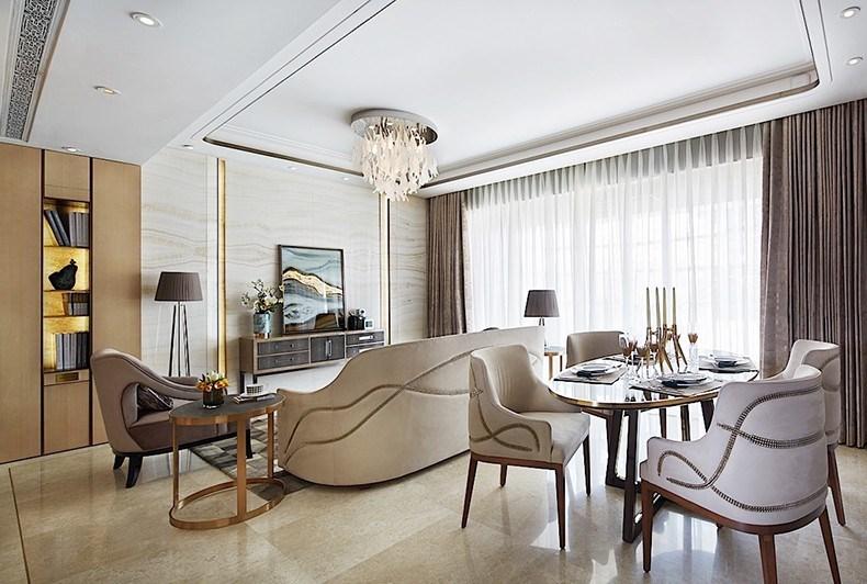 集艾设计:「黄浦·滨江」上海顶尖精装豪宅图片