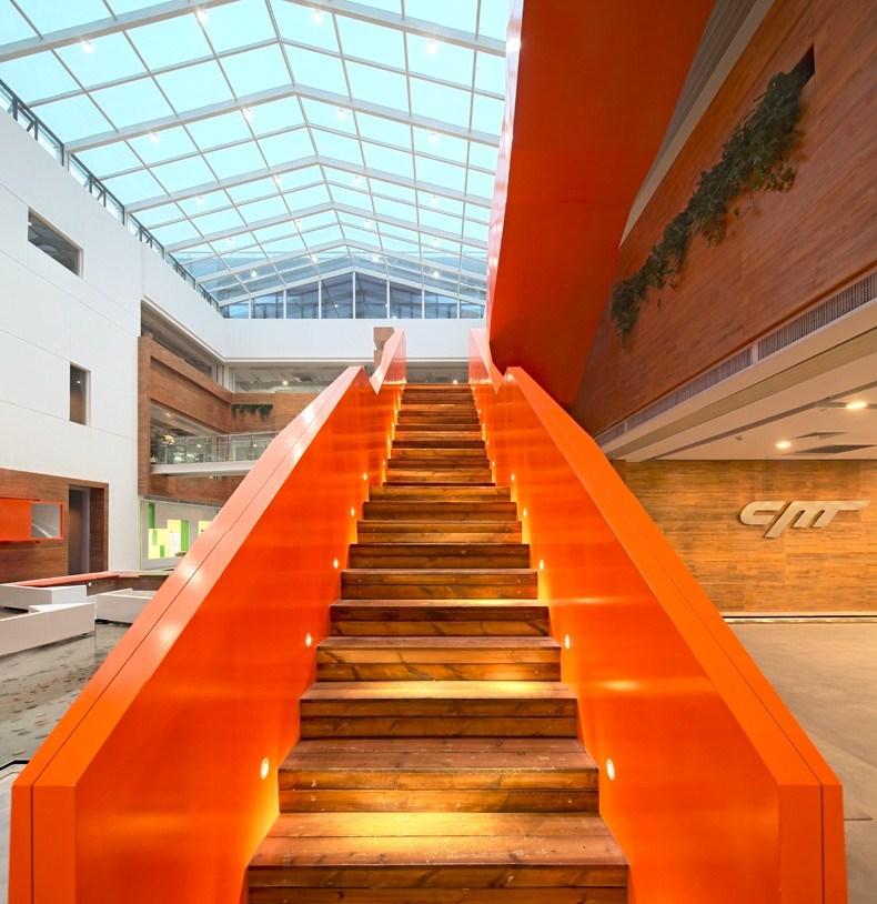 猎豹移动公司办公空间设计