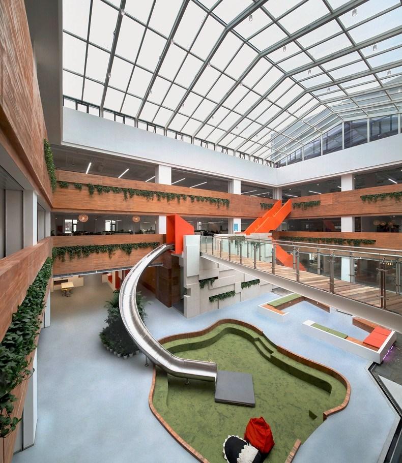 猎豹移动公司办公空间_设计圈