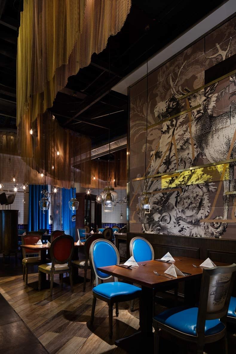 设计创造价值|孙黎明:多伦多海鲜自助餐厅-09