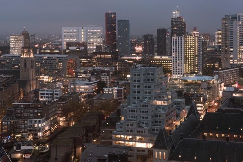 库哈斯新作:鹿特丹Timmerhuis商住综合体设计18