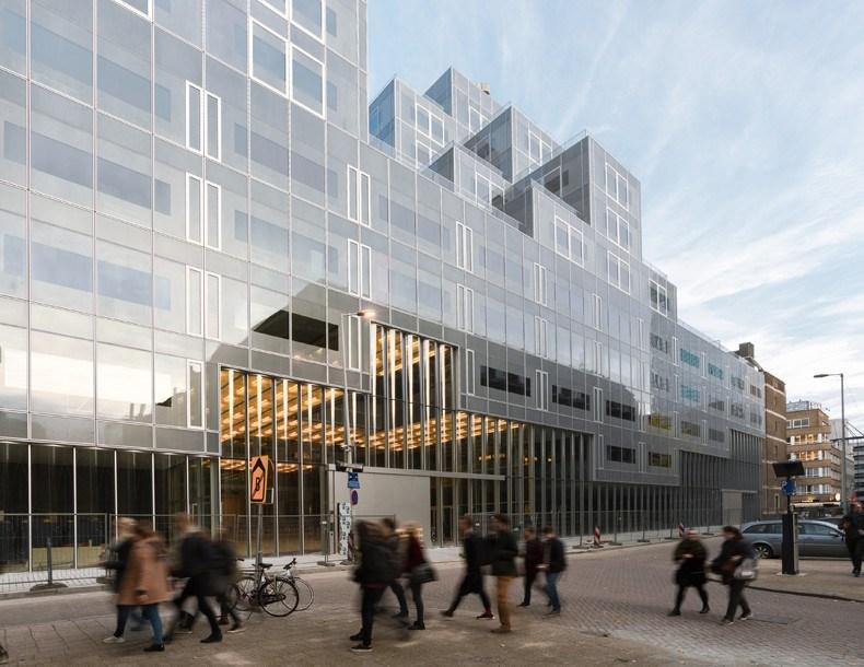 库哈斯新作:鹿特丹Timmerhuis商住综合体设计7