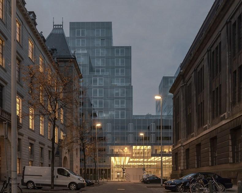 库哈斯新作:鹿特丹Timmerhuis商住综合体设计8