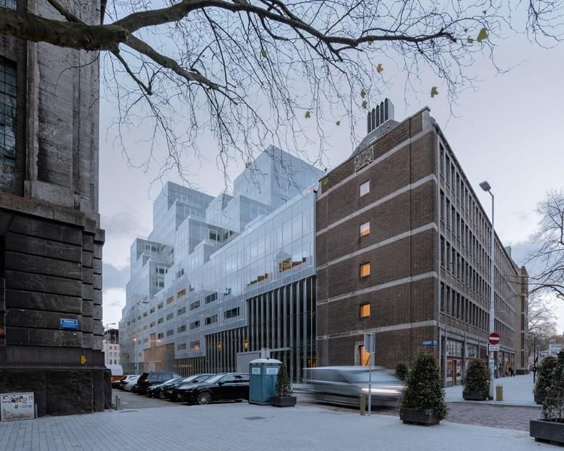 库哈斯新作:鹿特丹Timmerhuis商住综合体设计2.jpg