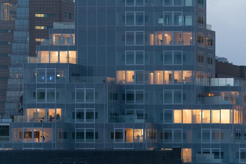 库哈斯新作:鹿特丹Timmerhuis商住综合体设计5.jpg