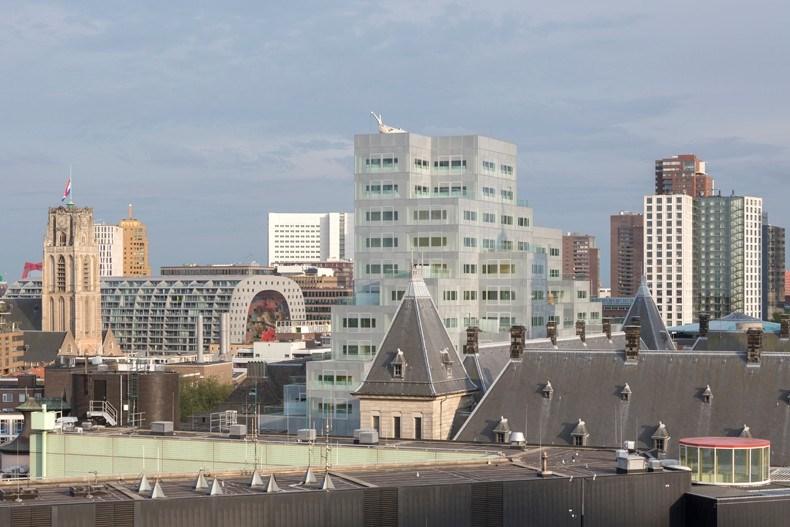 库哈斯新作:鹿特丹Timmerhuis商住综合体设计17.jpg
