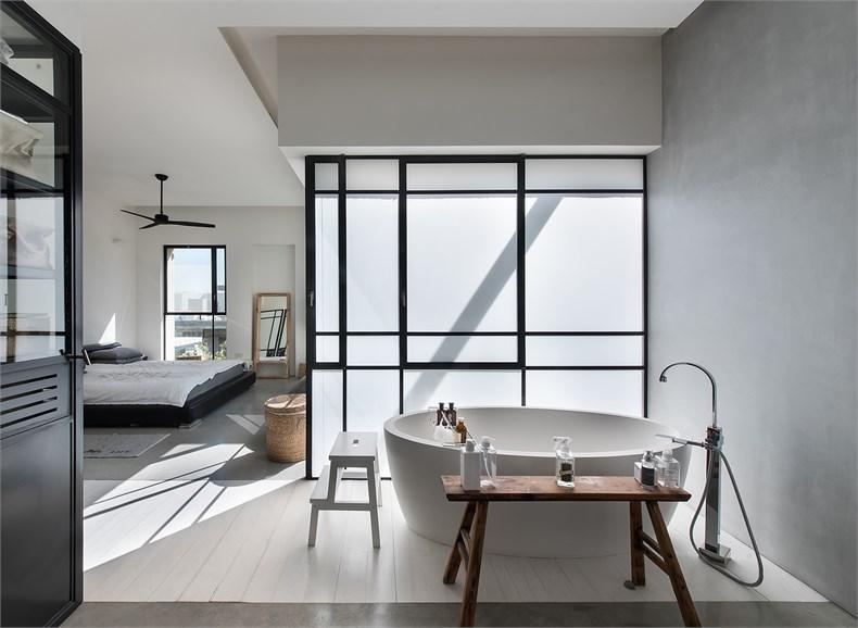 特拉维夫郊区住宅设计-16