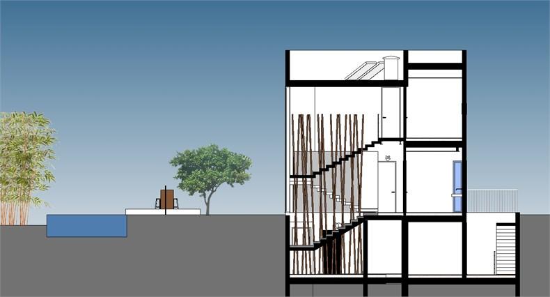特拉维夫郊区住宅设计-229