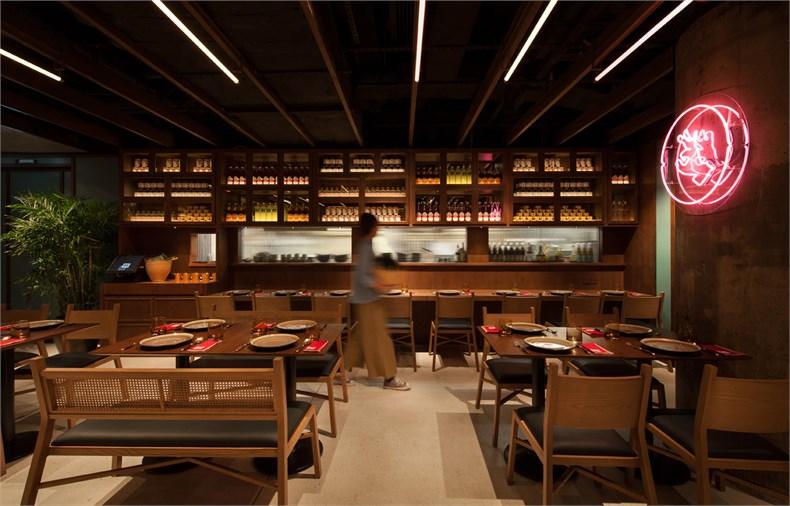Mak Mak泰式餐厅设计-06