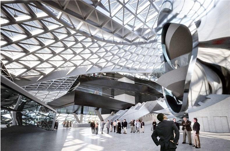 深圳当代艺术馆和规划展览馆设计4