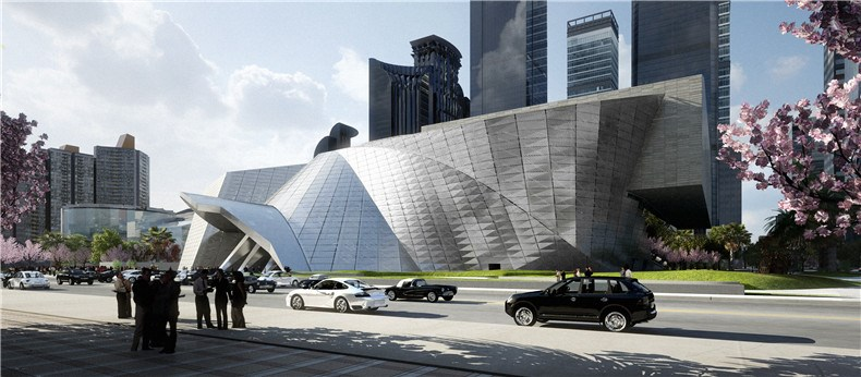 深圳当代艺术馆和规划展览馆设计6