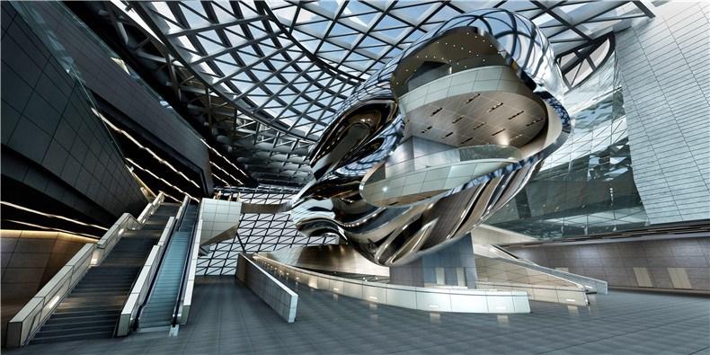 深圳当代艺术馆和规划展览馆设计8