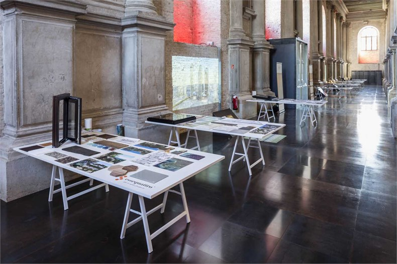 Marco Piva威尼斯双年展之「设计的复合性:材料、色彩、结构」展览-11