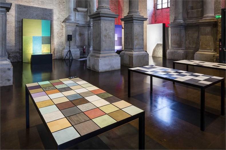 Marco Piva威尼斯双年展之「设计的复合性:材料、色彩、结构」展览-16