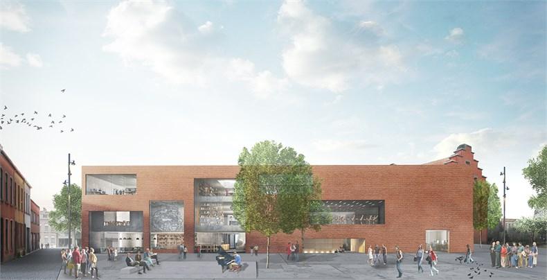 卡恩建筑赢得阿尔斯特表演艺术图书馆及学院项-02