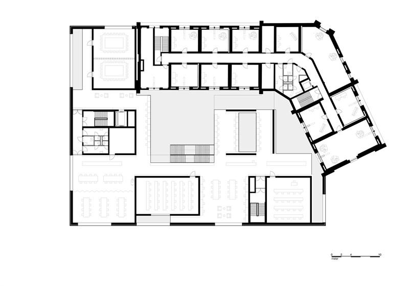 卡恩建筑赢得阿尔斯特表演艺术图书馆及学院项-03