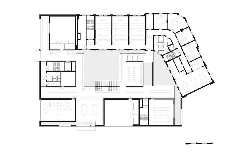 卡恩建筑赢得阿尔斯特表演艺术图书馆及学院项-07