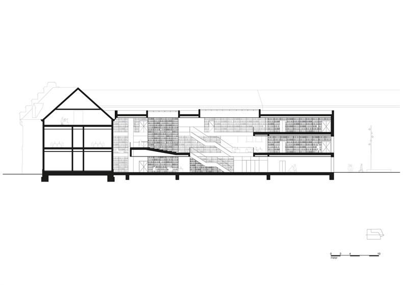 卡恩建筑赢得阿尔斯特表演艺术图书馆及学院项-09