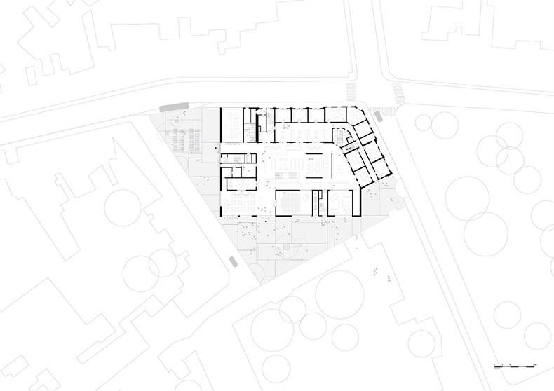 卡恩建筑赢得阿尔斯特表演艺术图书馆及学院项-10