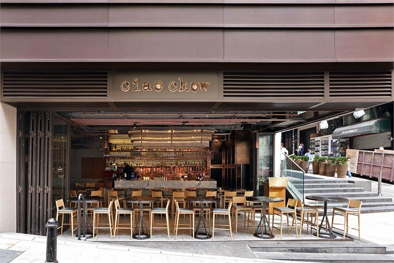 【首发】Kokaistudios打造兰桂坊Ciao Chow意大利餐厅-01