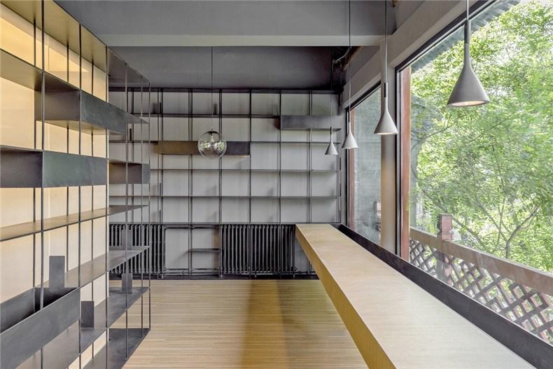 韩文强:荣宝斋咖啡书屋设计9