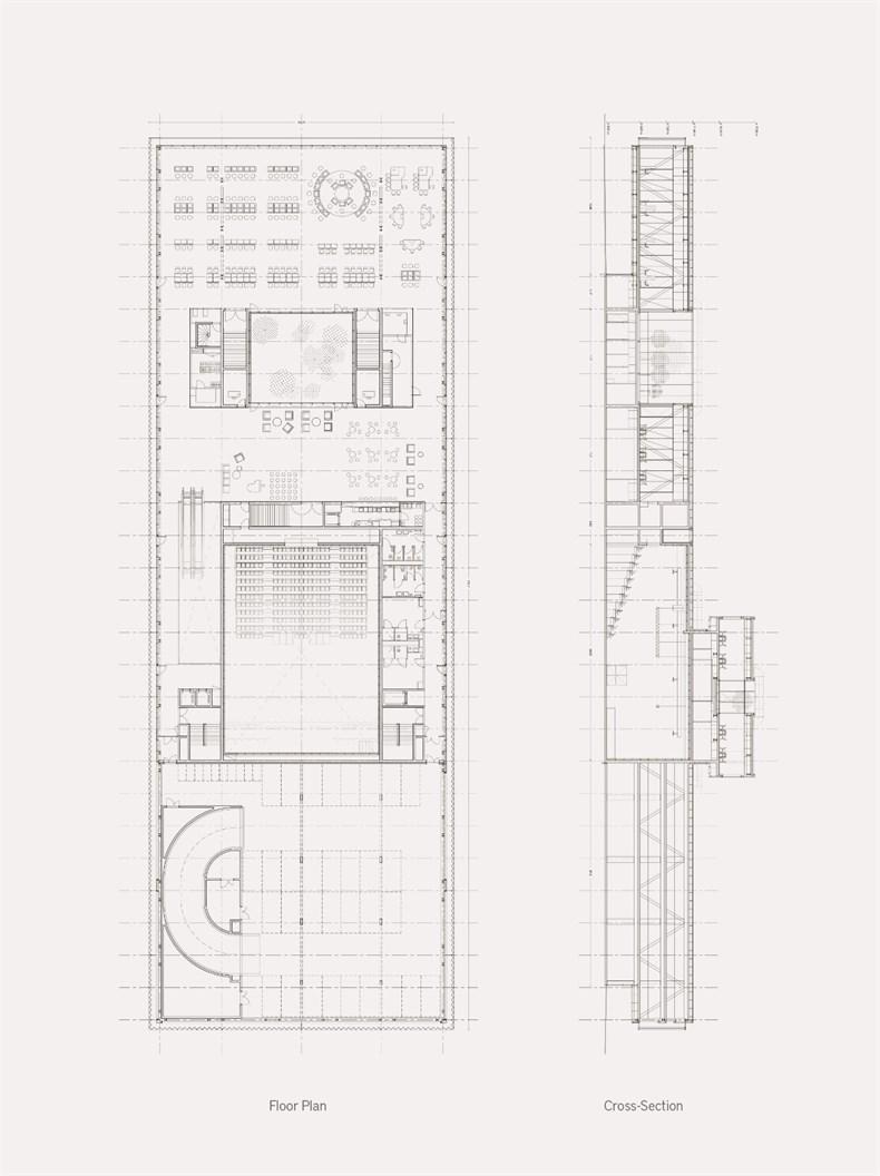 DATA建筑事务所:法国拉塞讷文化商业综合-12