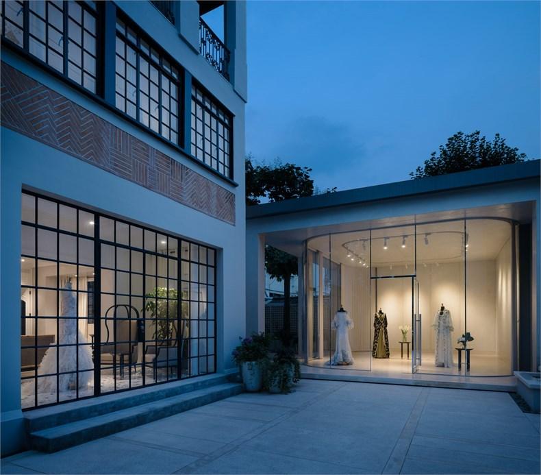 Kokaistudios:上海高级定制品牌Grace Chen之家设计13