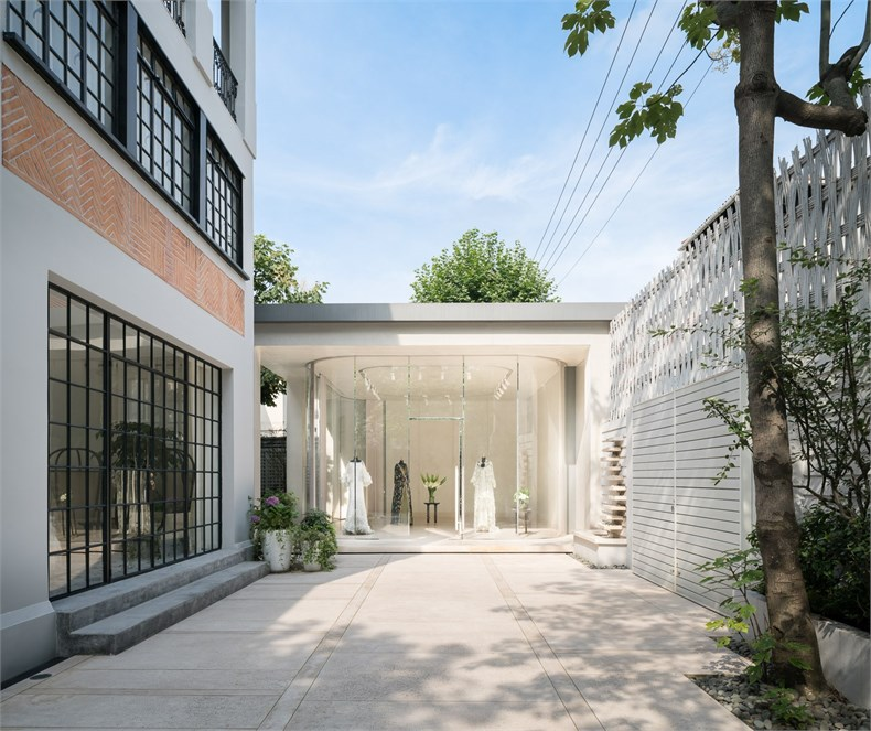 Kokaistudios:上海高级定制品牌Grace Chen之家设计2