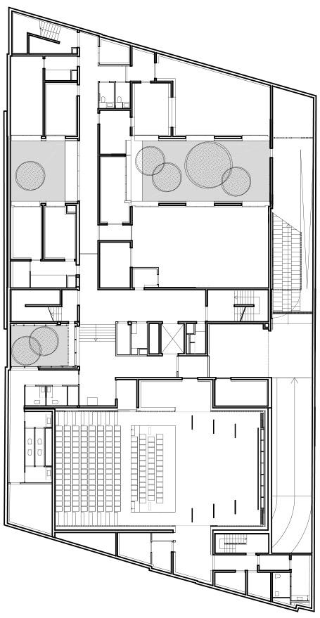 babin+renaud:巴黎Vanves省音乐学院设计-15