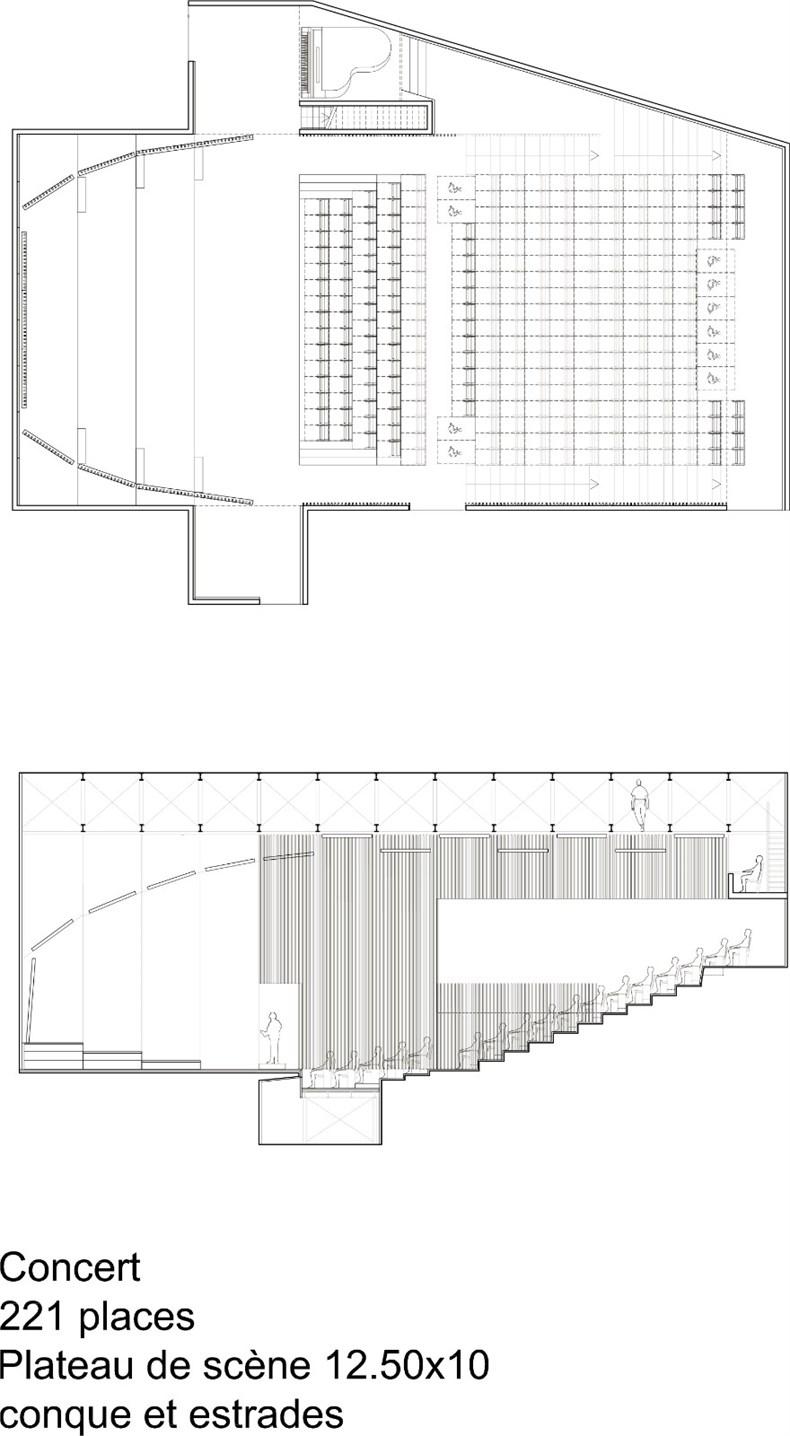 babin+renaud:巴黎Vanves省音乐学院设计-17