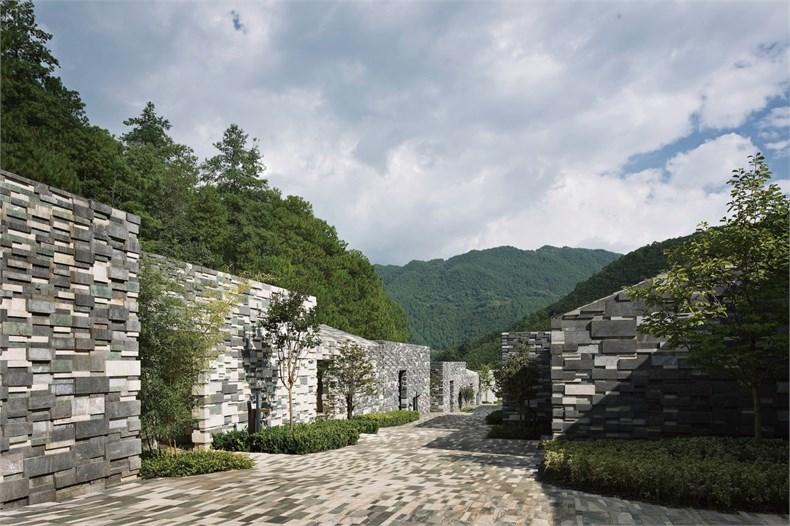 隈研吾:云南腾冲石头纪酒店设计3