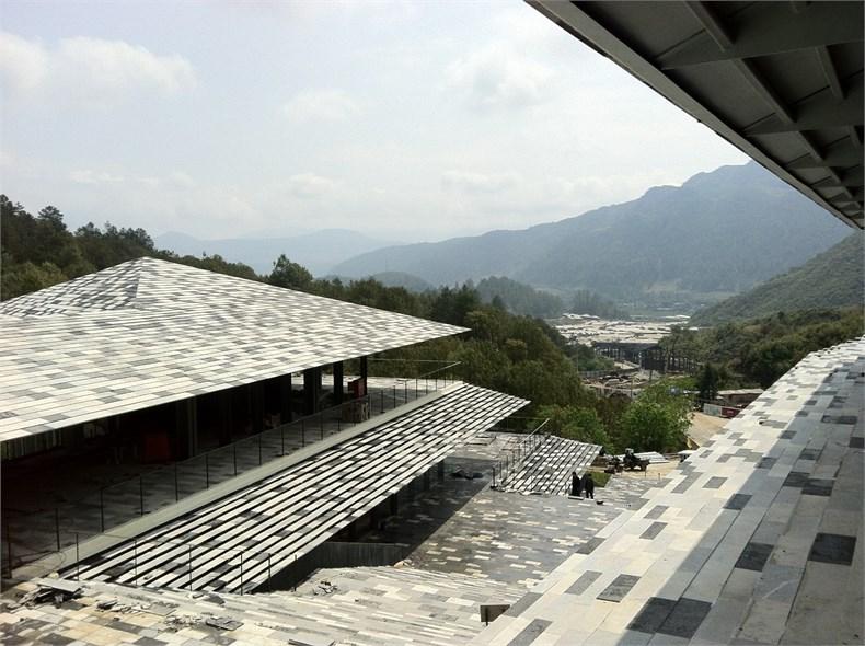 隈研吾:云南腾冲石头纪酒店设计5