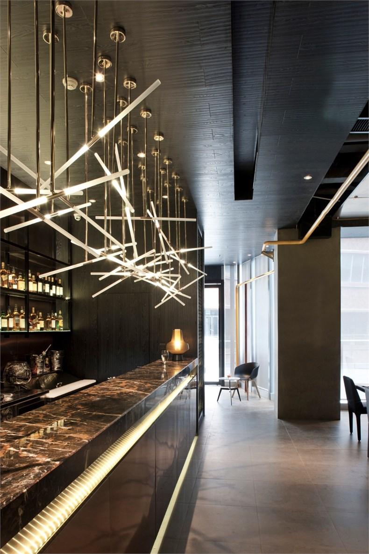 鹏涛室内设计:linn bistro创意餐厅设计