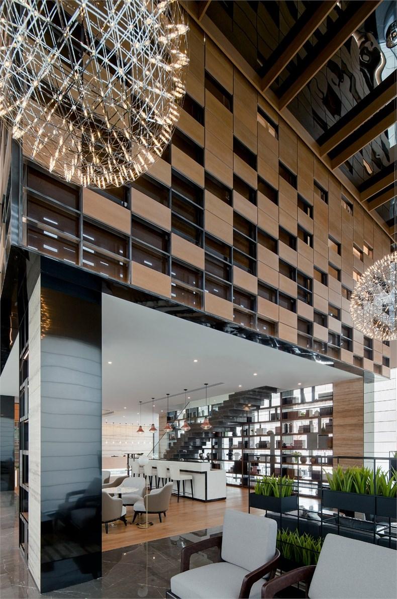 上海现代建筑设计院_方磊:路劲地产上海院子雅院售楼中心设计 - 设计腕儿【腕儿案例】