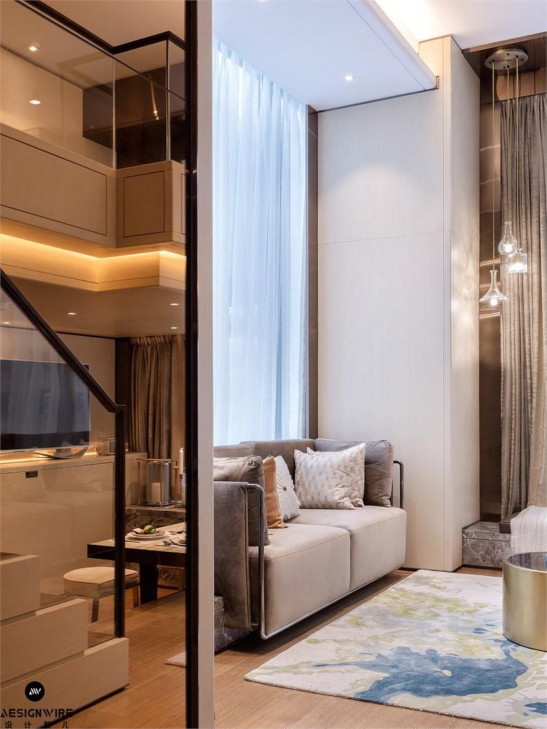 【首发】于强:鲁能·钓鱼台美高梅LOFT公寓(三套)设计-01
