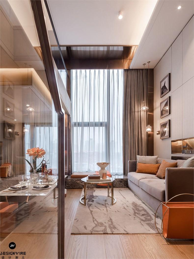 【首发】于强:鲁能·钓鱼台美高梅LOFT公寓(三套)设计-07