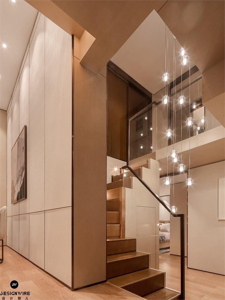 【首发】于强:鲁能·钓鱼台美高梅LOFT公寓(三套)设计-15