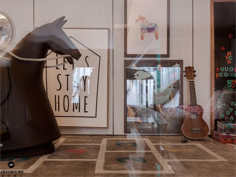 【首发】于强:鲁能·钓鱼台美高梅LOFT公寓(三套)设计-09