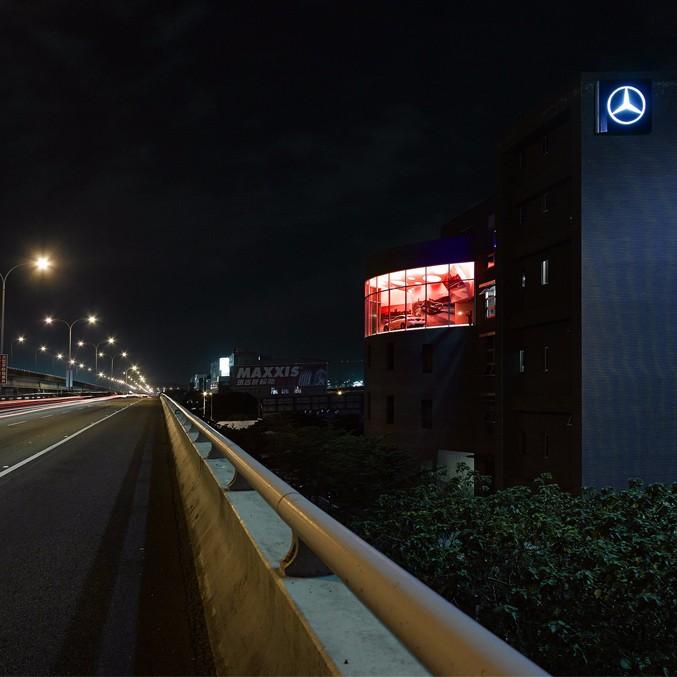 何俊宏:台北奔驰展厅设计1