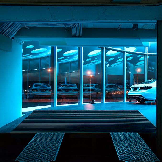何俊宏:台北奔驰展厅设计5