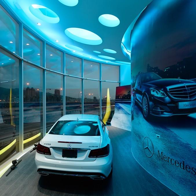 何俊宏:台北奔驰展厅设计6