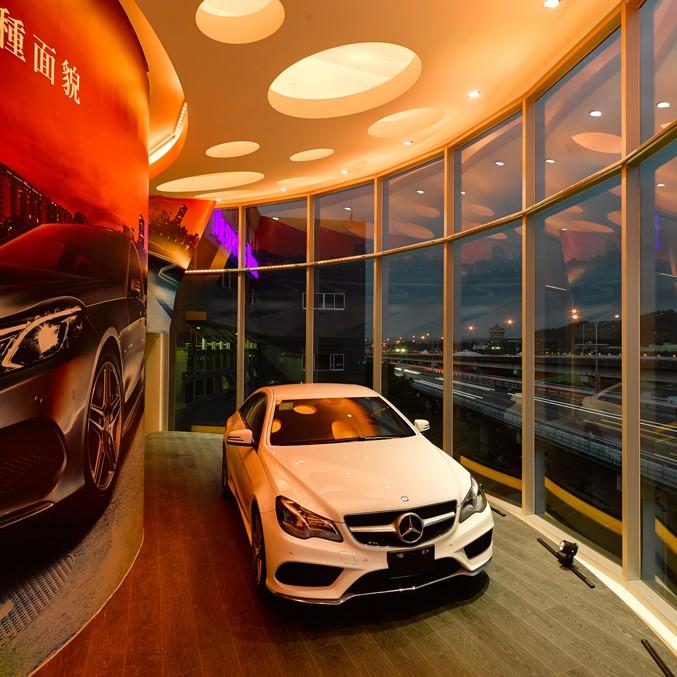 何俊宏:台北奔驰展厅设计7