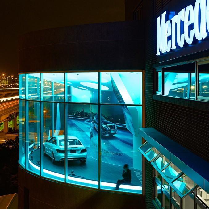 何俊宏:台北奔驰展厅设计4