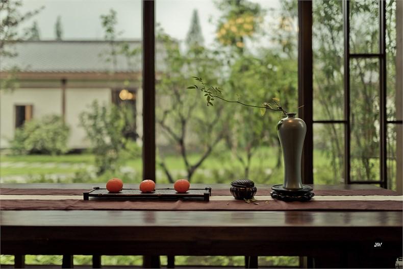 胡中维:洪雅雅林茶轩设计-13