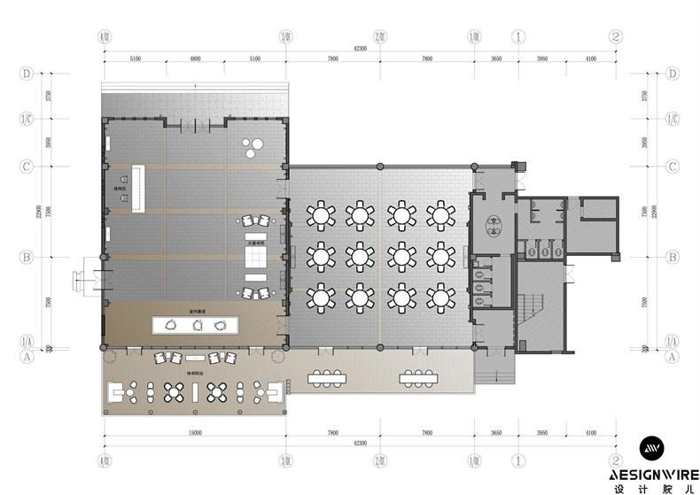 湘设计 建筑设计  设计师手绘图    室内设计:深圳市胡中维室内建筑