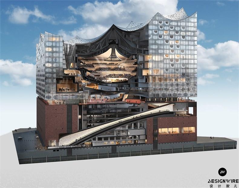 Herzog & de Meuron:Elbphilharmonie音乐厅设计-22